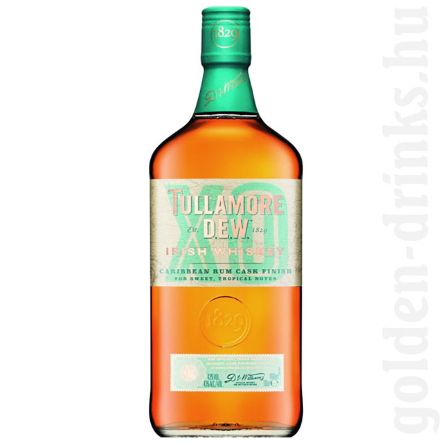 Tullamore Dew XO Caribbean Rum Cask Finish whiskey 0,7 43%