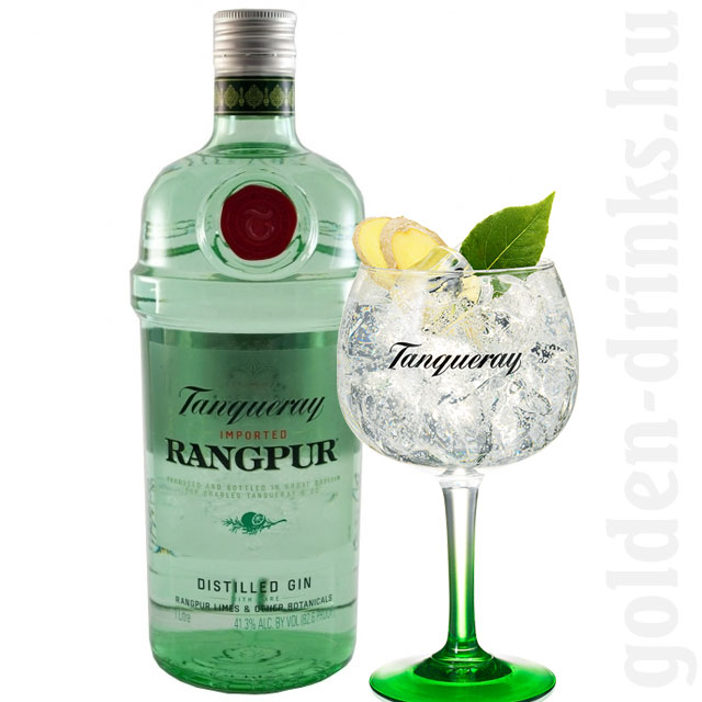 Tanqueray Rangpur gin 1,0 41,3%