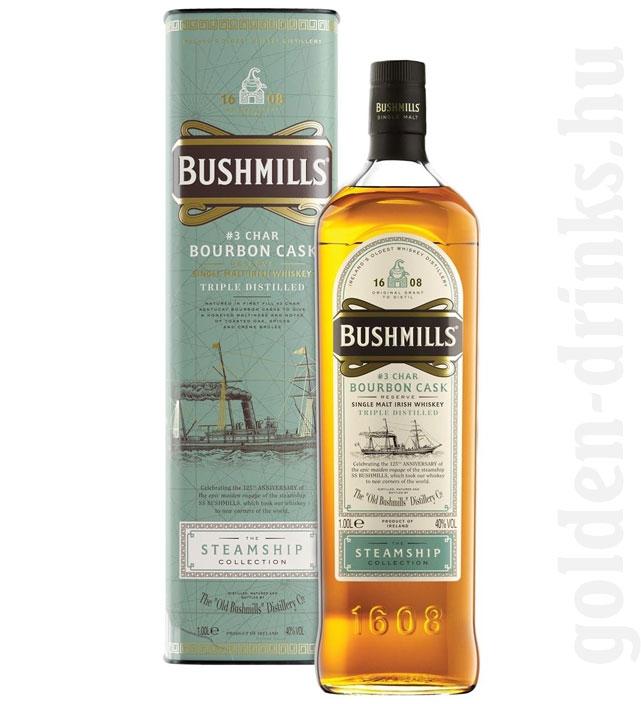 Bushmills Steamship Coll. Bourbon Cask 1,0 40% pDD