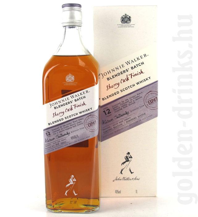 Johnnie Walker 12é Blenders Sherry Cask Finish 1,0 40% pDD