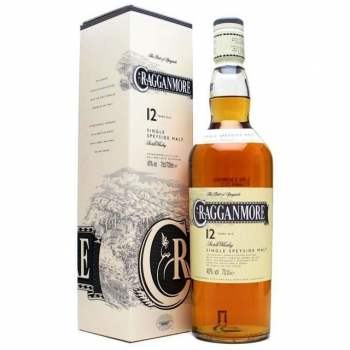 Cragganmore 12é Single Malt scotch whisky 0,7 40% pDD