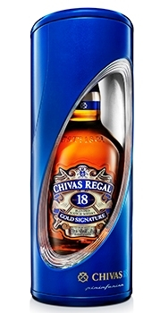 Chivas Regal whisky 18é Pininfarina Edt. 0,7 40% fémDD