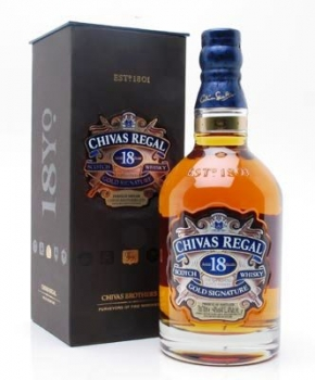 Chivas Regal whisky 0,7 40% 18 éves pDD
