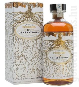 Ferrand 10 Generations cognac 0,5 46% pDD