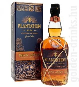 Plantation Gran Anejo rum (Guatemala & Belize) 0,7 42% pDD